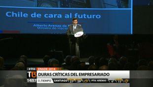 [T13 Tarde] Enade 2014: Presidente de la CPC entregó discurso con duras críticas