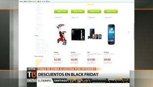 "[T13 AM] Comienza ""Black Friday"" en Chile"