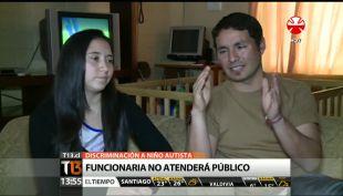 [T13 Tarde] Polémica por discriminación a niño autista en Registro Civil de Concepción