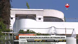 [T13 Tarde] Comienza remate de mansión de los dueños de financiera informal Eurolatina