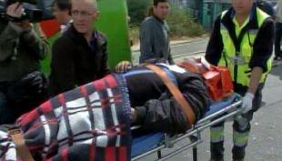 [T13] Grave accidente en cerro Placeres dejó tres heridos