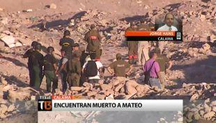 [T13] Triste desenlace: Encuentran muerto a niño desaparecido en Calama