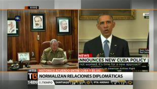 [T13 TARDE] EE.UU. y Cuba comienzan proceso para normalizar relaciones diplomáticas