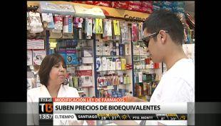 [T13 TARDE] Modifican Ley de Fármacos y bioequivalentes podrían subir de precio