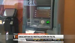 [T13 Tarde] Descartan instalación de cajero automático en Til Til