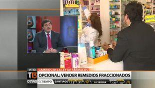 [T13 AM] Salud aclara por qué venta en góndolas y fraccionamiento de remedios sólo serán opcionales