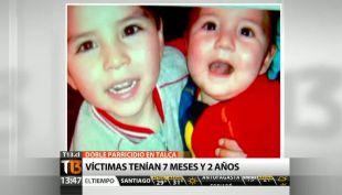 [T13 Tarde] Doble parricidio en Talca: víctimas tenían 7 meses y dos años
