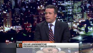 """[T13 Noche] Óscar Landerretche y Chuquicamata subterránea: """"60% de los recursos están ahí"""""""