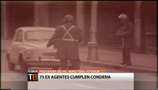 T13 Noche] Programa de DD.HH. del Ministerio del Interior: 73 ex agentes cumplen condena