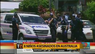 [T13 Noche] Consternación por asesinato de 8 niños en Australia y más noticias del mundo