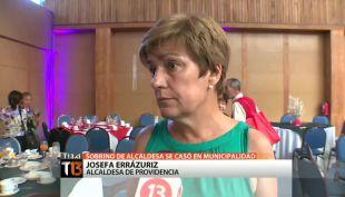 [T13] El polémico matrimonio del sobrino de Josefa Errázuriz en el edificio municipal