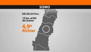 [T13 Tarde] Sismo de mediana intensidad afectó a la ciudad de Linares