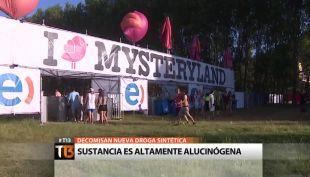 Nbome: Decomisan droga altamente alucinógena en fiesta electrónica Mysteryland