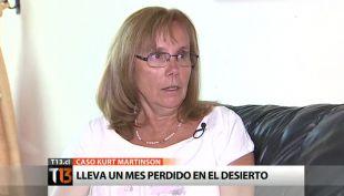 "[T13] Madre de Kurt Martinson: ""Pienso que está muerto"""