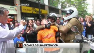 Crónica de una detención: El paso a paso de la justicia chilena