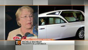 [T13Noche] Presidenta Bachelet: \