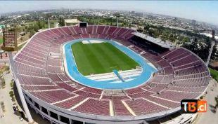 Revisa las mejores imágenes de un drone sobrevolando el Estadio Nacional