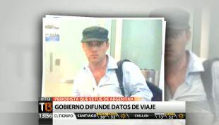 [T13 Tarde] Gobierno difundió datos de viaje del periodista que develó muerte del fiscal