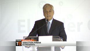 Así fue la visita de Piñera a Venezuela
