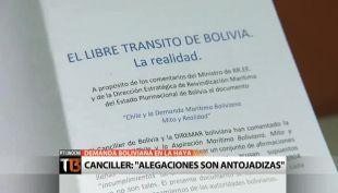 Canciller Heraldo Muñoz respondió los cuestionamientos del gobierno de Evo Morales