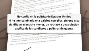 La carta con la cual rompió el silencio Fidel Castro