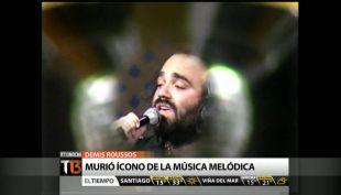 El talento y las historias del cantante griego Demis Roussos