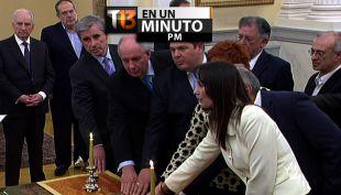 [VIDEO] #T13enunminuto: nuevo Primer Ministro griego confirma medidas anti austeridad y más noticias