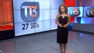 Revisa la edición completa de T13 de este 27 de enero