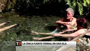 Llancahué: las únicas termas chilenas en una isla