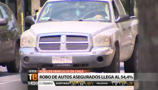 Cada 17 minutos ocurre un robo de vehículo en Chile