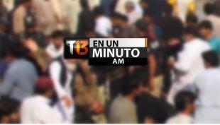[VIDEO] #T13enunminuto: Al menos 12 muertos deja ataque a mezquita en Pakistán y más noticias