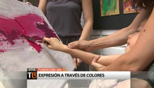 Fundación Ser: Niñas con daños neurológicos se expresan a través de los colores
