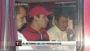 El regreso de los trabajadores paraguayos de Francisco Javier Errázuriz
