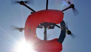 [VÍDEO] Proyecto Perseo: el innovador drone salvavidas que debutó en las costas chilenas