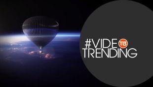 [VIDEO] #VideoTrending: ¿Te gustaría hacer un viaje al límite del espacio?