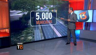 Los cambios al peaje angostura que podrían mejorar la Ruta 5 Sur