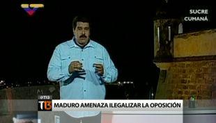 Venezuela ilegalizaría a la oposición: \