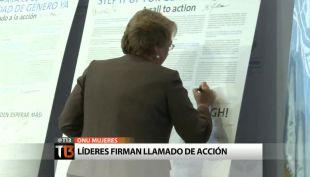Las tres exigencias que suscribió el Encuentro ONU Mujeres celebrado en Chile