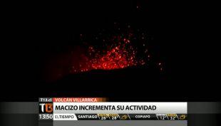 Volcán Villarrica: Alarma entre vecinos y veraneantes por aumento de actividad
