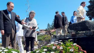 [VIDEO] La visita de Ban Ki-moon a la casa de Pablo Neruda en Isla Negra