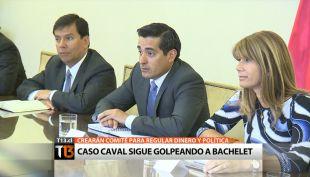 Caso Caval sigue golpeando a la presidenta Michelle Bachelet