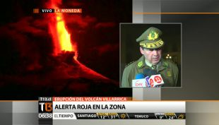 "[VIDEO] General Director de Carabineros: ""Estamos en condiciones de enviar refuerzos"""