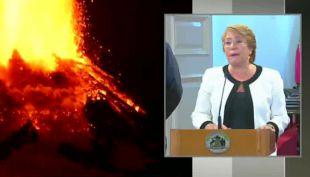 Bachelet pide calma y anuncia visita a la zona afectada