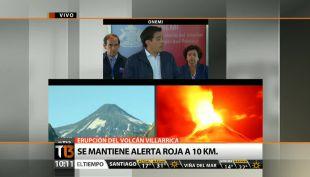 [VIDEO] Se mantiene la alerta roja por erupción del volcán Villarrica