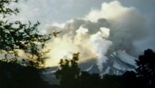 [VIDEO] Esta fue la erupción del volcán Villarrica en 1971