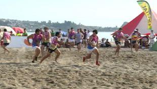 Furor causa el rugby en playa blanca