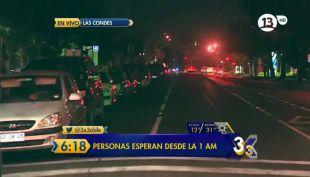 [VIDEO] Se producen filas desde la 1 de la mañana por la revisión técnica