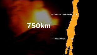 Erupción del volcán Villarrica: Las cifras que dejó el despertar del macizo