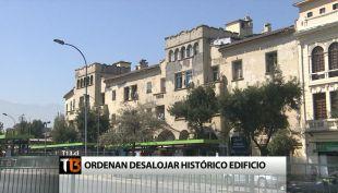 El histórico edificio que será desalojado en Santiago Centro