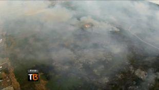 Puerto Montt: Humo y neblina causan accidentes y problemas de salud